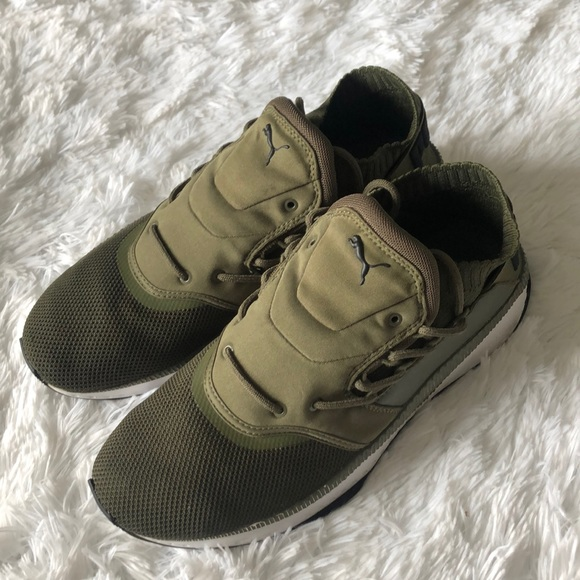 Puma Shoes   Tsugi Shinsei Men Green